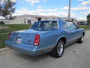 1988 chevrolet monte carlo luxury sport for sale alsip