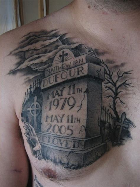 tombstone tattoo designs tattoos for you
