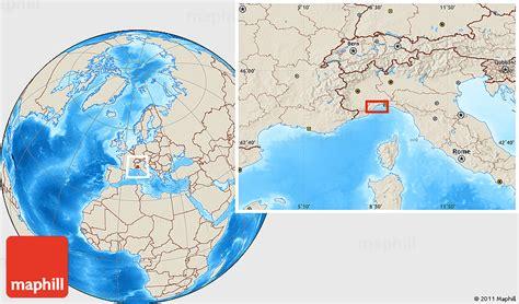genoa world map shaded relief location map of genoa
