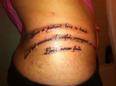love is patient tattoo is patient designs corinthians 13 4