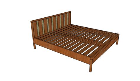 king bed frame plans platform bed frame plans howtospecialist how to build