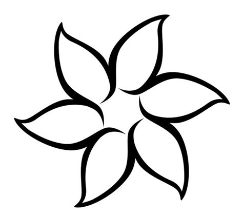 flower pattern for cut out best photos of simple flower template flower coloring