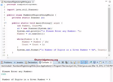 java pattern matcher exle digits java program to count number of digits in a number