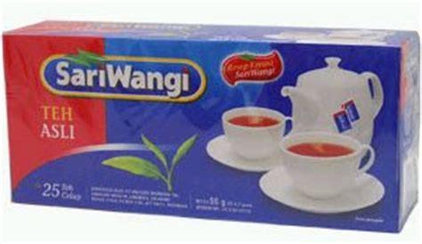 Sari Wangi Teh Celup Bungkus visi menuju prestasi september 2008