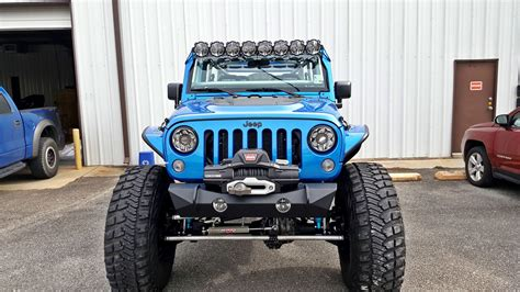 jeep wrangler kc lights kc hilites pro6 gravity led light bar system