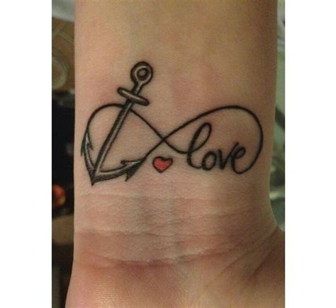 cute faith infinty with heart and cross tattoo anchor infinity ring wrist tattoo tattoos pinterest