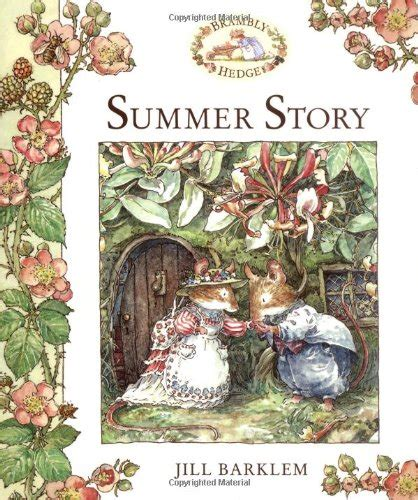 winter story brambly hedge books brambly hedge book series by barklem