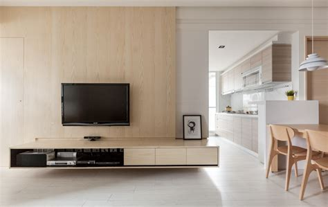 tv panel design the magic of wood and light