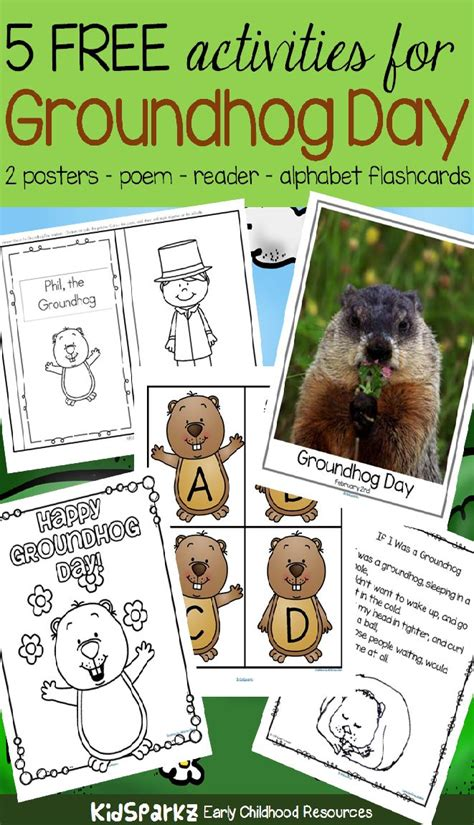 groundhog day kindergarten activities 2947 best images about kindergarten free stuff on