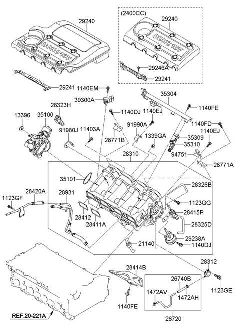 [DIAGRAM] Engine Diagram Of 2003 Hyundai Sonata V4 FULL