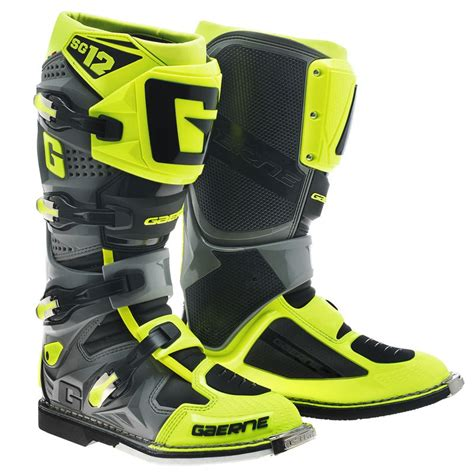 Sepatu Cross Gaerne Sg12 bottes cross gaerne sg12 yellow 2017 enduro motoblouz