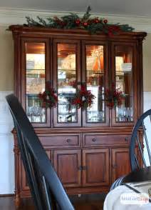 How To Decorate A China Cabinet 2013 Christmas House Tour Hundreds Of Holiday Decorating