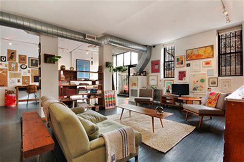 wohnzimmer nyc vintage wohnzimmer loft in new york wohnideen einrichten