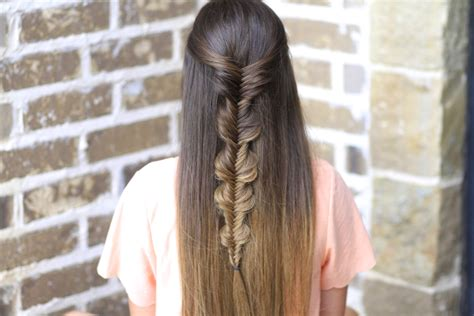 hairstyle bubble back the no band bubble fishtail braid cute girls hairstyles