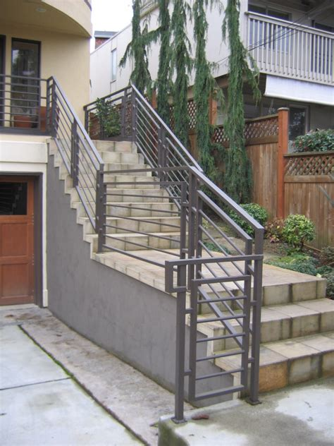 exterior stairs exterior stair railing kits