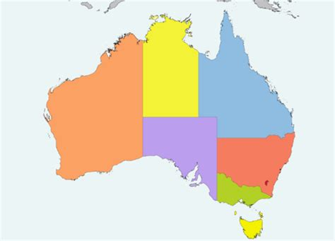 australia map with capital cities list of australian capital cities