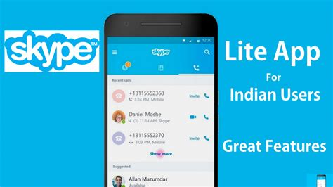skype app for android free apk skype lite app free communication apk for android device