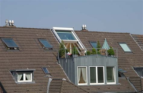 Baut Skrup Roofing 35 15 besten dachbalkon bilder auf balkon dachausbau und dachgauben