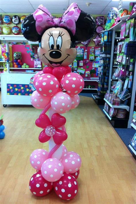 Minnie Mouse Balloon Decoration by Balloon Ideas Favors Ideas