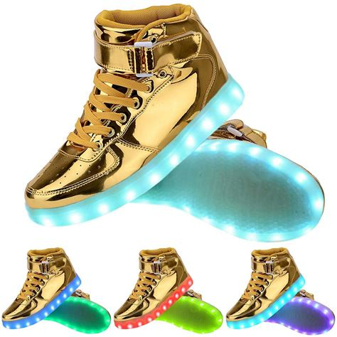 light up high tops light up high top sports sneakers shoes high top