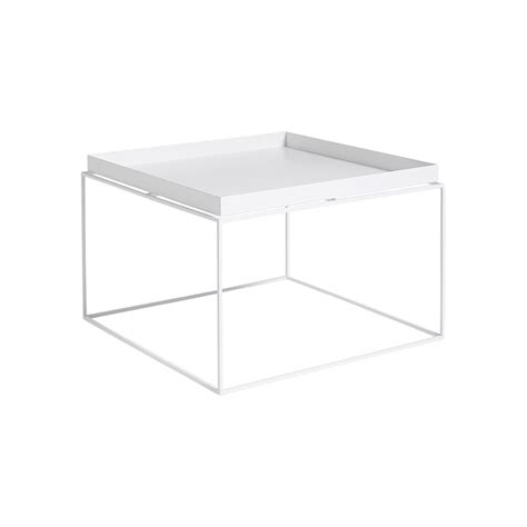 white tray coffee table buy hay tray coffee table white amara