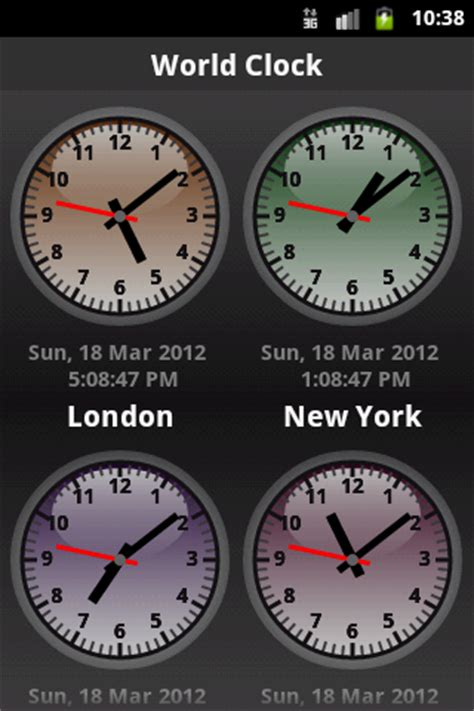 best android world clock the android apps best world clock in play store