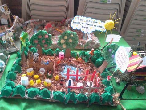 con que materiales reciclables puedo hacer una maqueta de volcan maquetas con material reciclable ecolog 237 a