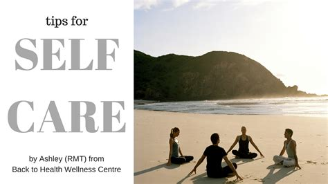Care Tips 2 by Self Care Archives Back To Health Wellness Centre