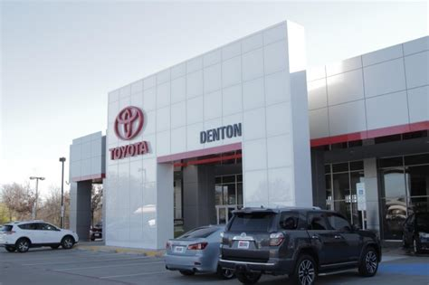 Toyota Dealership Parts Toyota Of Denton 4100 South I 35 E Frontage Rd Denton