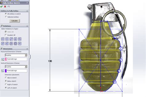 solidworks sketch pattern under defined tutorial tip fully defining sketches in solidworks