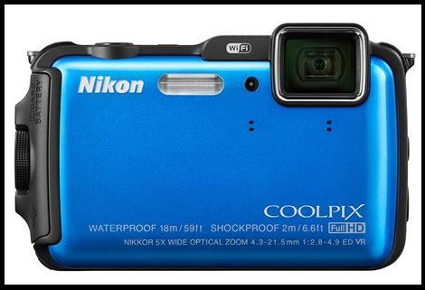 Kamera Nikon Aw120 nikon coolpix aw120 waterproof intj