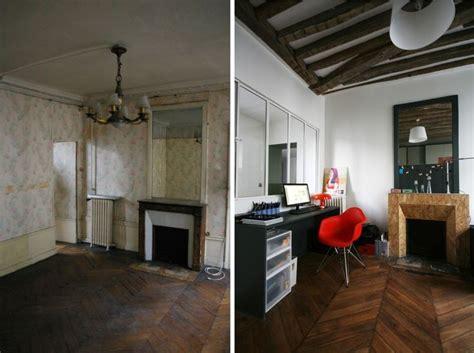 Renovation Cheminee Avant Apres by Avant Apr 232 S R 233 Novation D Un Appartement Par Julie