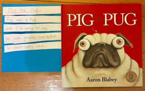 pig the pug teaching notes using aaron blabey s pig the pug to teach grammar the