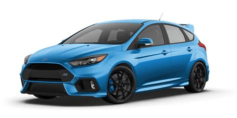 focus rs colors what color is your focus rs going to be
