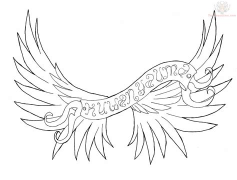 tattoo designs cross with angel wings wings images designs