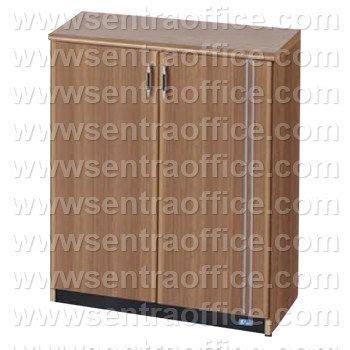 Ust 7464 Uno Lemari Arsip Medium jual lemari arsip medium pintu panel 3 ruang uno lavender