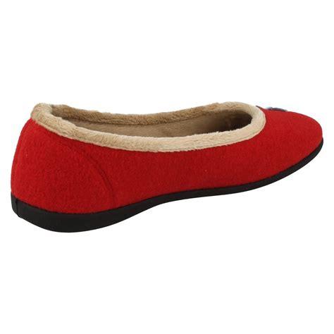 ballerina house slippers ladies padders wide fitting ballerina style house slippers happy