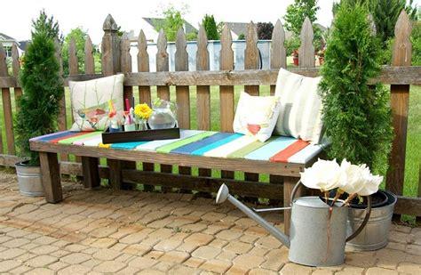 arredo giardino con pallet idee giardino in pallet una selezione di mobili e