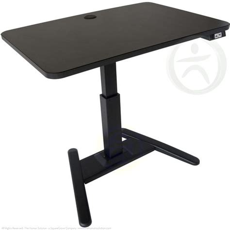 The Uplift 975 Is A Single Leg Adjustable Height Standing Adjustable Legs For Standing Desk