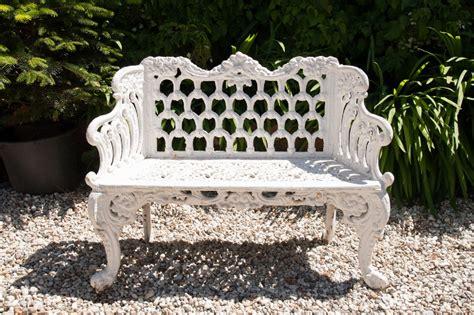 antique cast iron garden bench antique ornate garden cast iron bench 352587