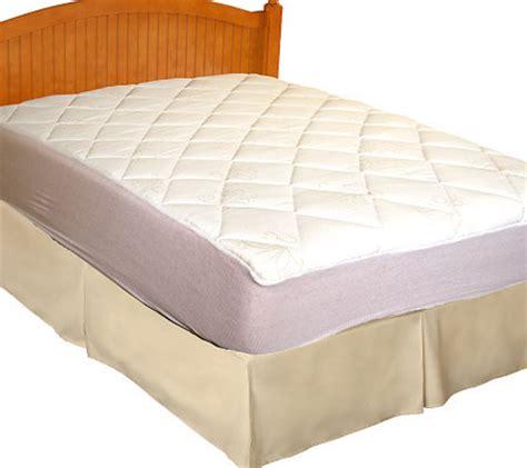 sealy posturepedic marquesa knit mattress pad w skirt