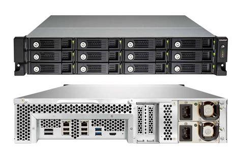 storage visio qnap ts 1270u rp review it pro