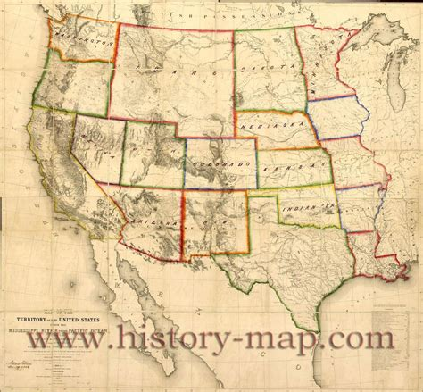 maps western united states goseekit image map of western united states