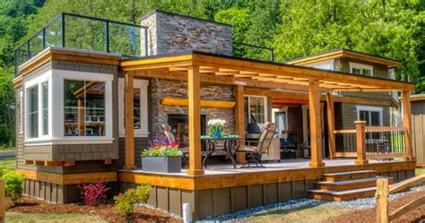 Cottage Kitchen Designs Photo Gallery by The Most Remarkable Of Park Model Tiny House Design Tedx