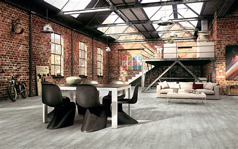 Home Interiors Warehouse by Key Traits Of Industrial Interior Design