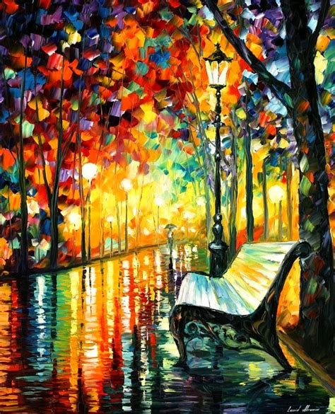 cool painting for free leonid afremov on canvas palette knife buy original