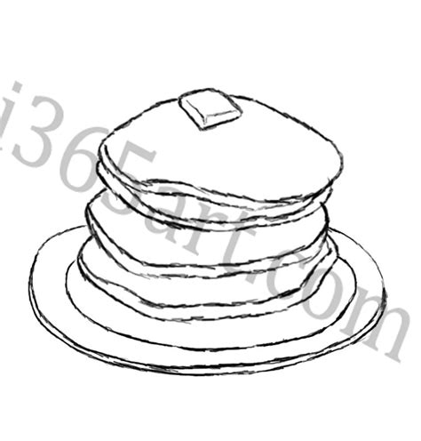 coloring pages of pan cake pancakes free coloring pages