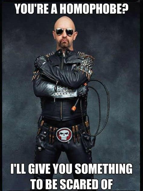 Judas Priest Meme - rob halford of judas priest lgbt pinterest