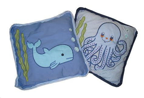 under the sea baby bedding baby boutique under the sea 14 pcs crib bedding set incl l shade ebay