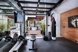 Wood Interior Homes 11 cool home gym ideas askmen